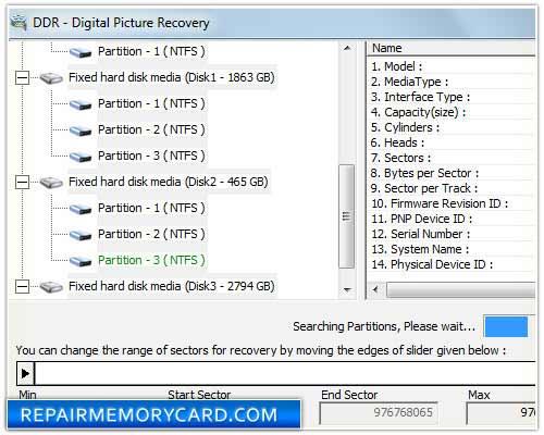 Picture regain software undelete lost files