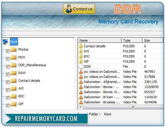 Card Recovery Tool restore lost digital video